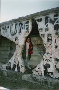 Me in Berlin Wall