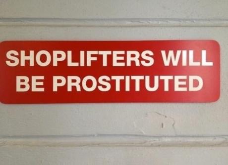 prostituted